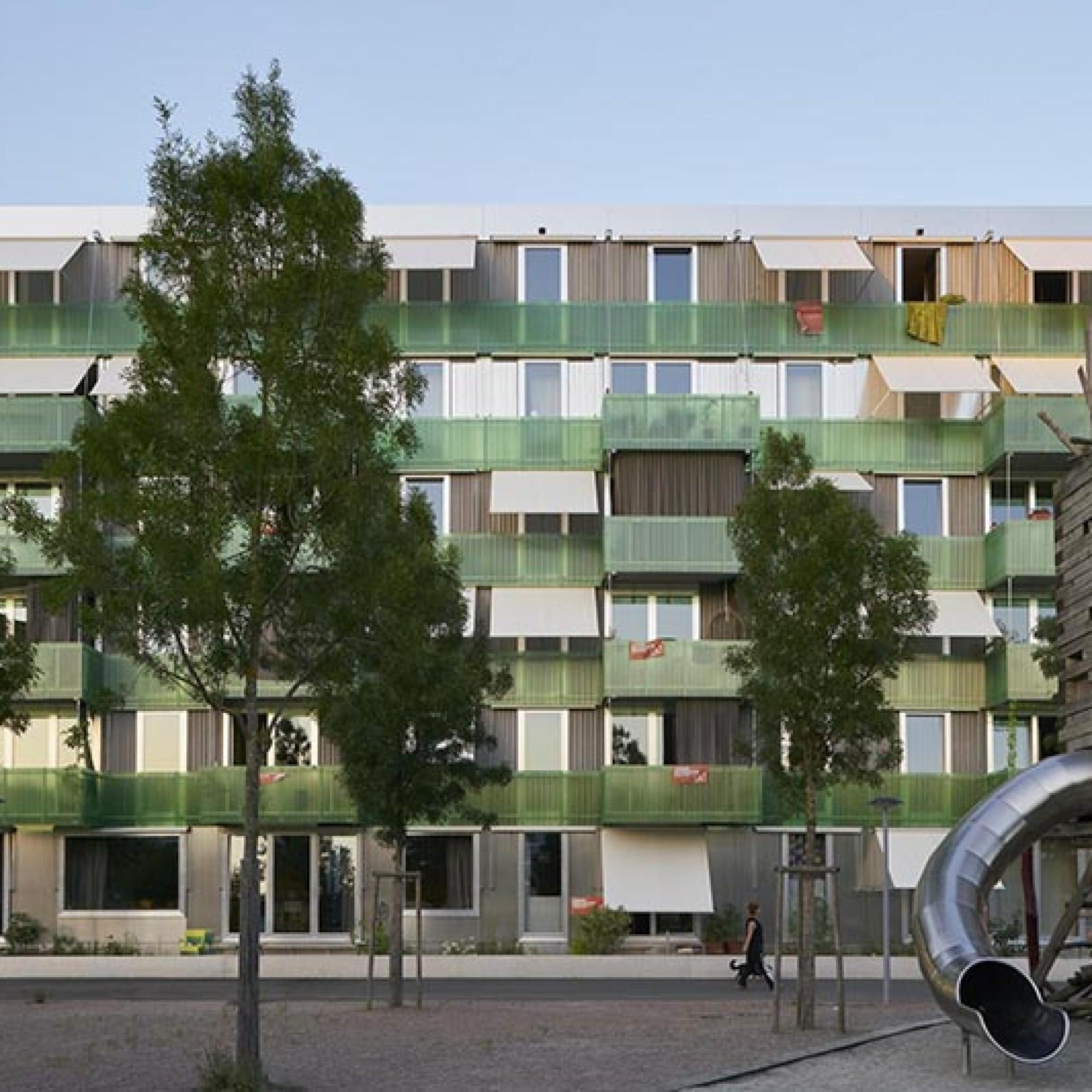 Le projet «Immeuble de coopérative Stadterle» du bureau d'architectes Buchner Bründler Architekten BSA SIA à Bâle est le grand vainqueur des Arc Awards 2018. (Image 1 sur 4) Basile Bornand
