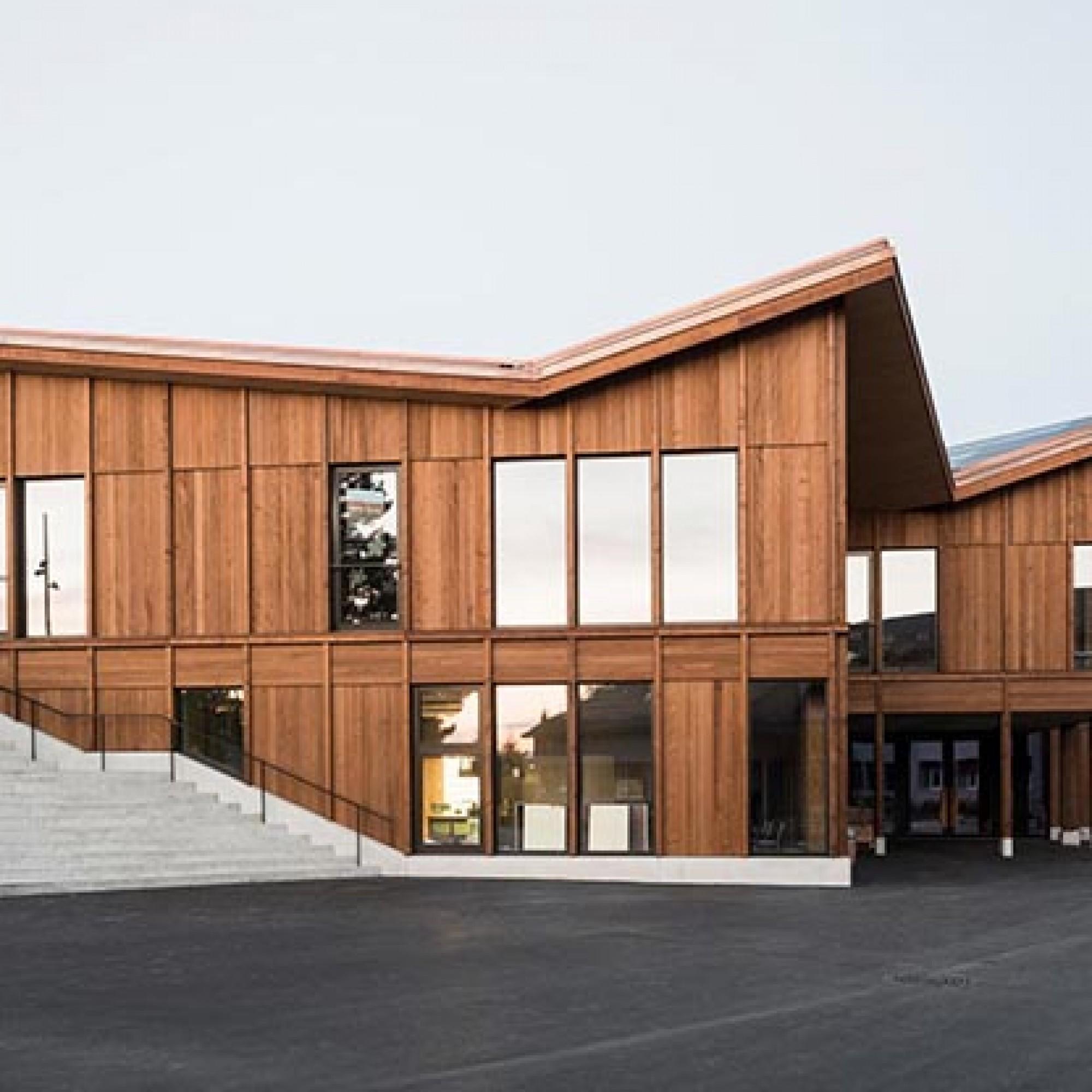 Dans la catégorie «La première construction», le jury a attribué le prix au projet «Schule Port» de Skop GmbH, Zurich (Image 4 sur 4) Simon von Gunten