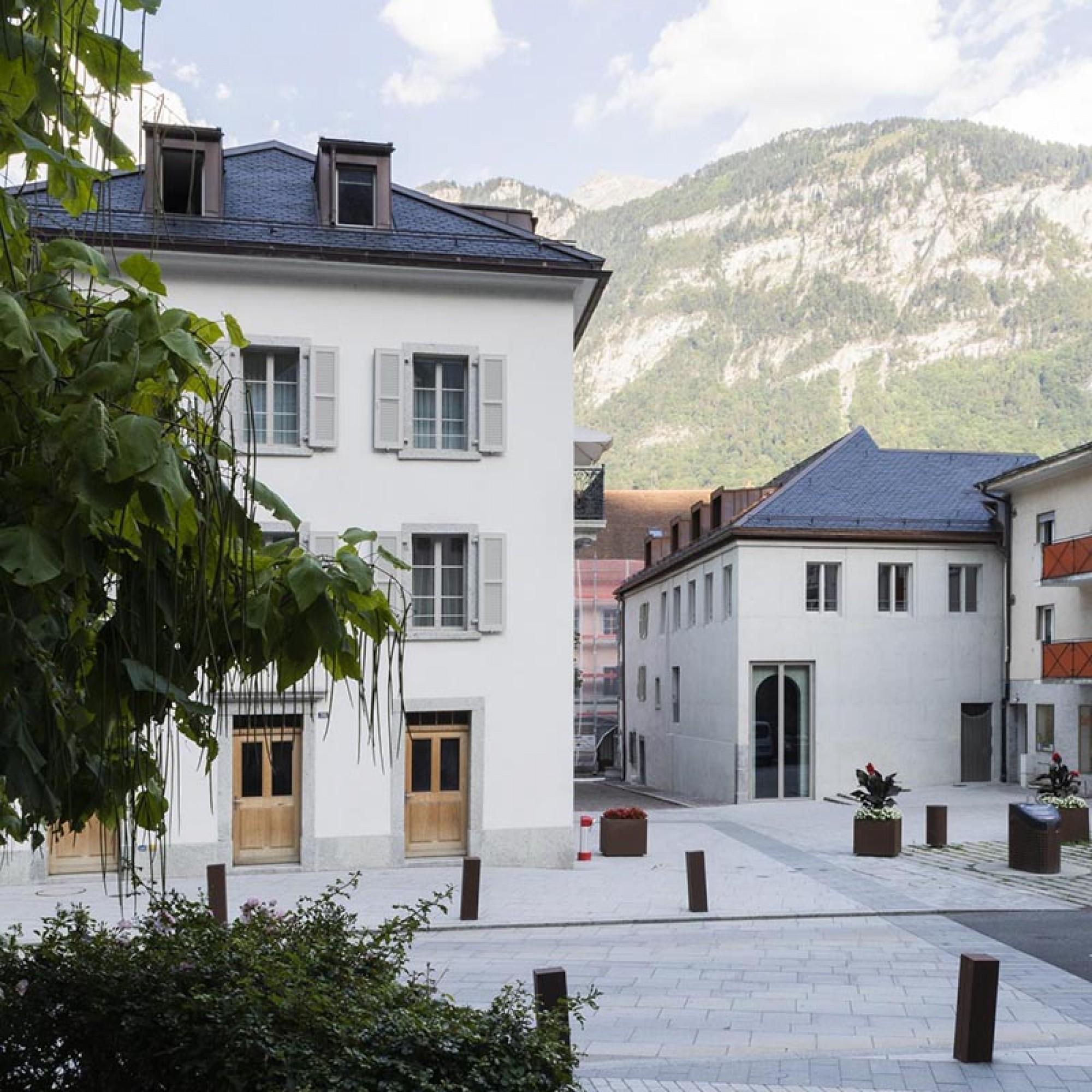 Le prix spécial du jury revient au projet «Maisons Duc» de Gaymenzel sàrl, Monthey. (Image 3 sur 4) Eik Frenzel