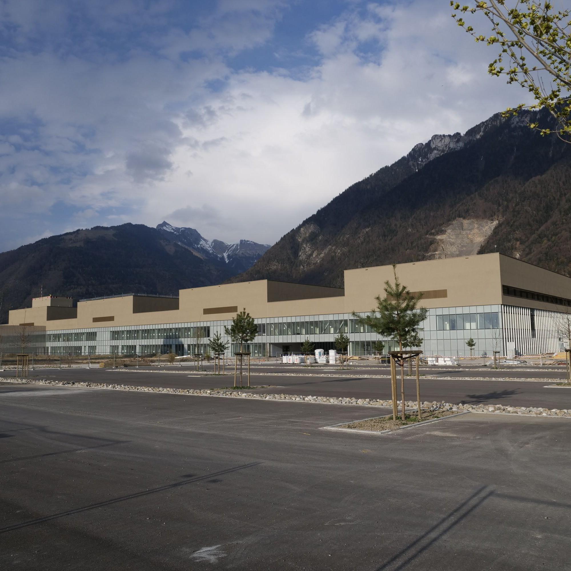 Hôpital Riviera Chablais à Rennaz (VD)