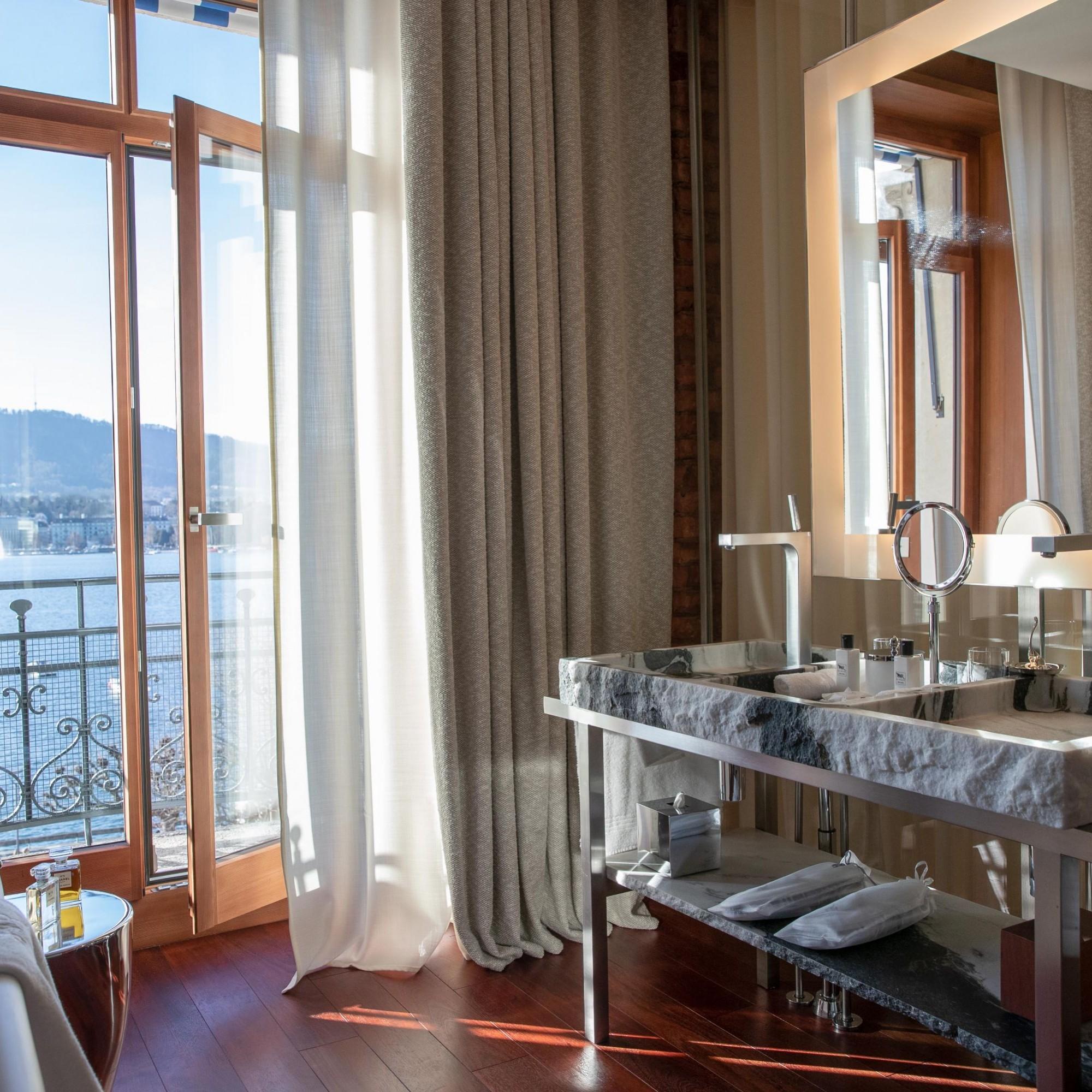 La Réserve Eden sur les rives du lac de Zurich,