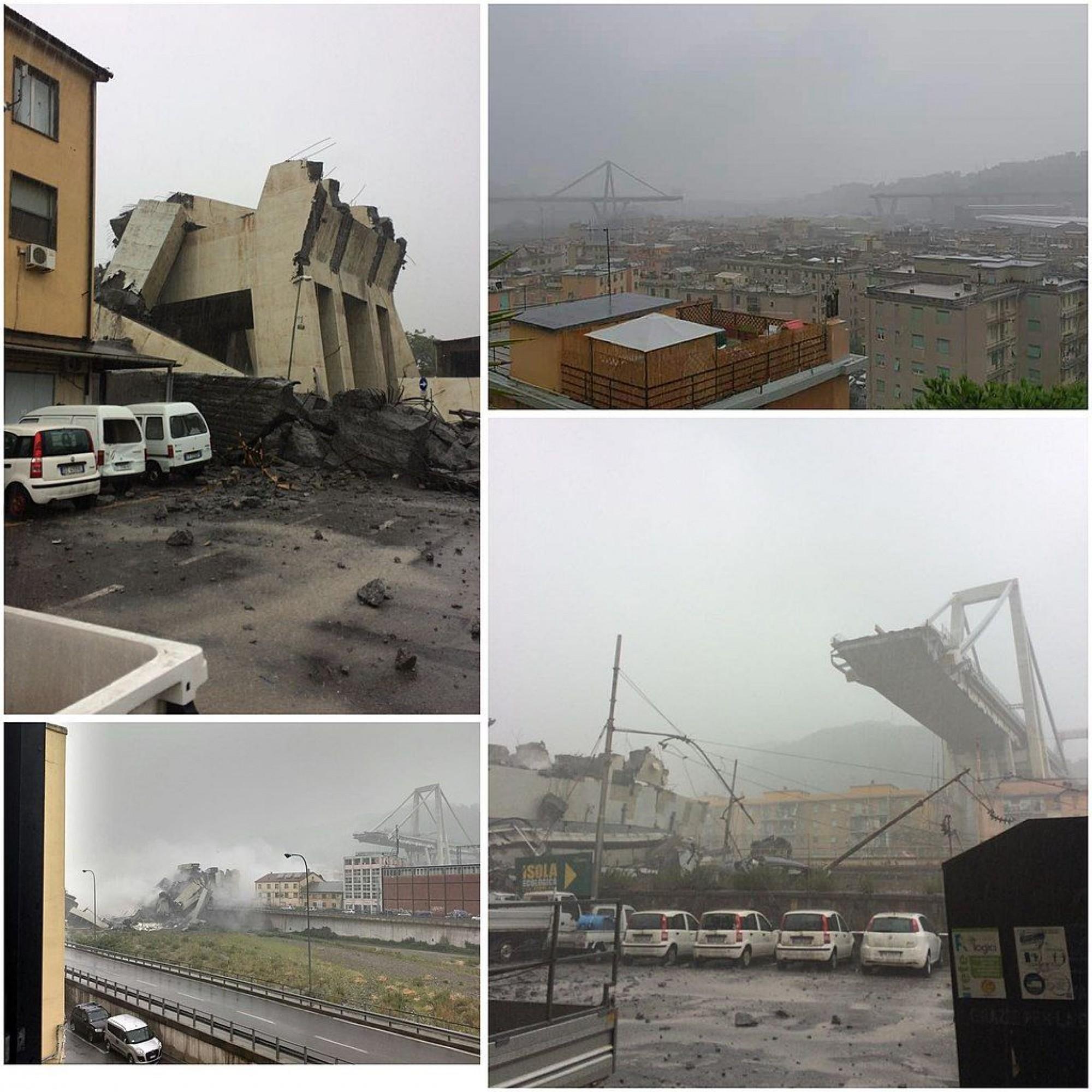 Le 14 août 2018, 43 personnes périssent dans l'écroulement du viaduc. Pour faire table rase de cette catastrophe, six immeubles construits sous le viaduc ont été évacués, des centaines d'habitants déplacés.