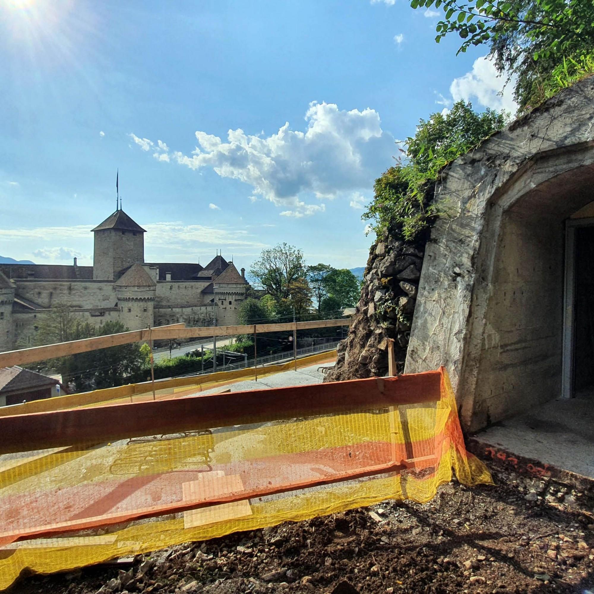 Fort de Chillon- Classé top secret - Souterrains - Réduit national suisse