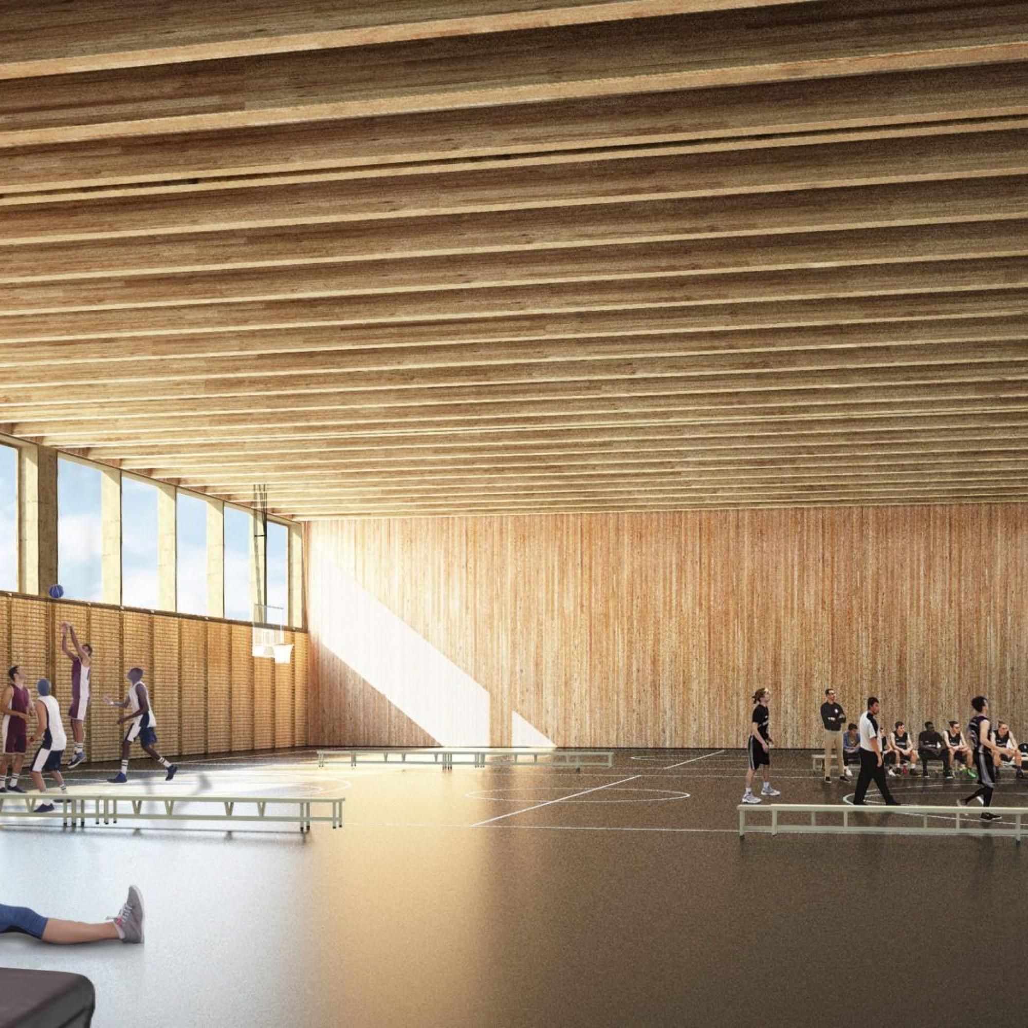 55 millions pour le Centre sportif de la Gruyère
