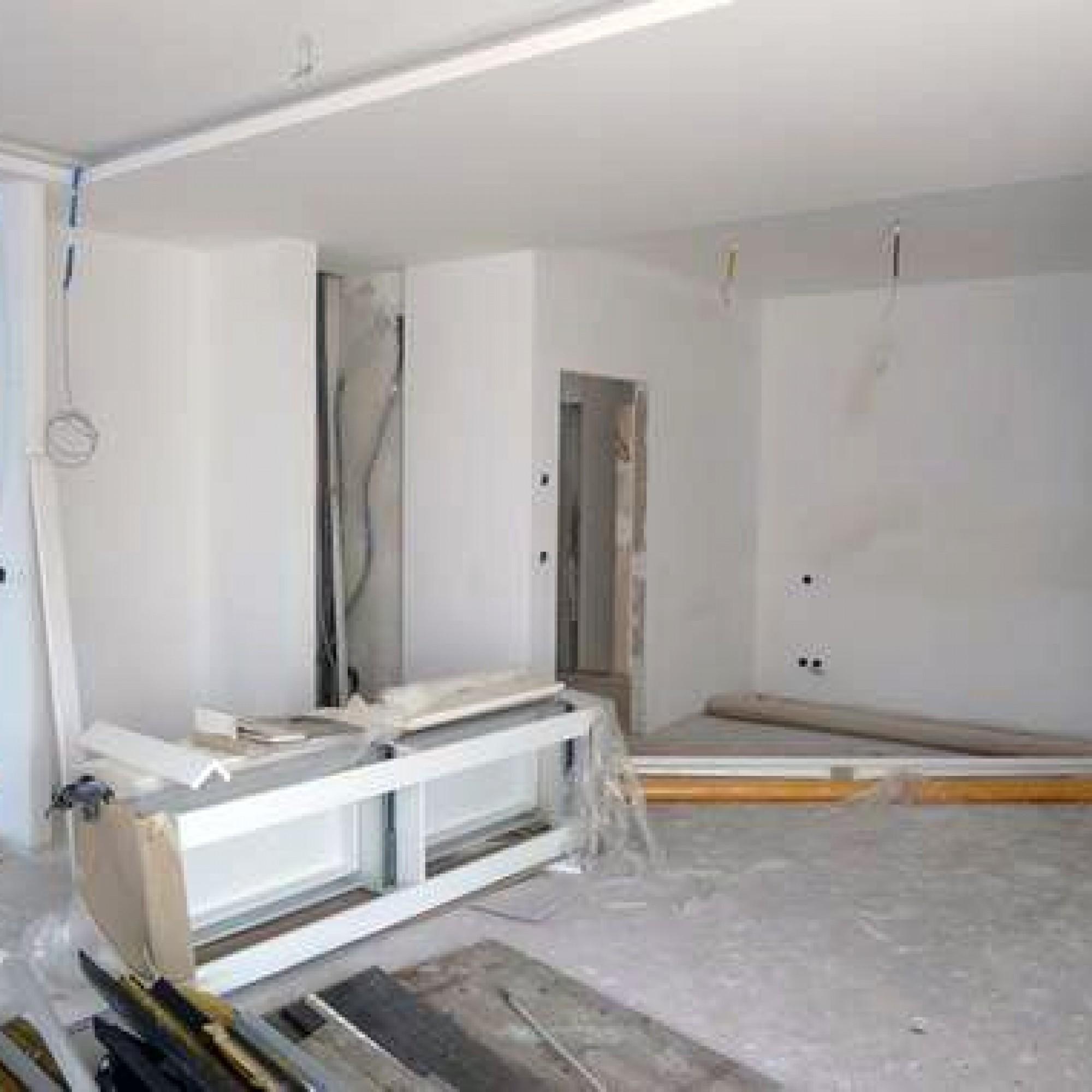 L'ensemble du logement est à l'état brut, toutes les finitions doivent encore être entreprises