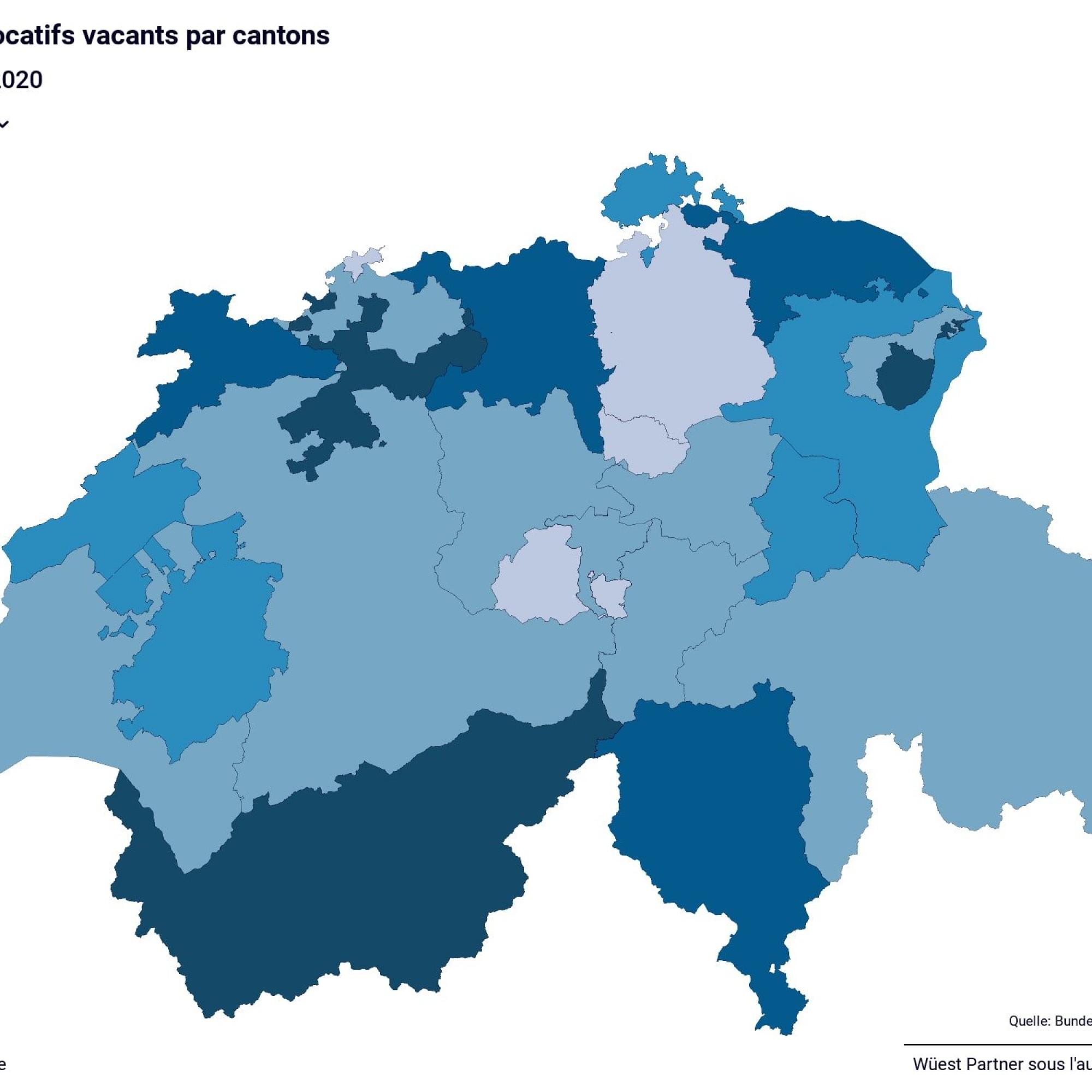 Premiers signes de surchauffe: 2,8 % des logements locatifs sont vacants en Suisse