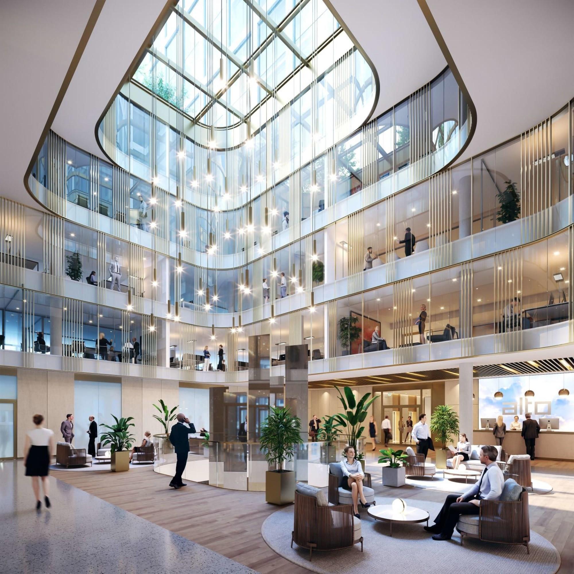 «Alto Pont-Rouge» est le futur immeuble de bureaux et de commerces au Grand-Lancy.