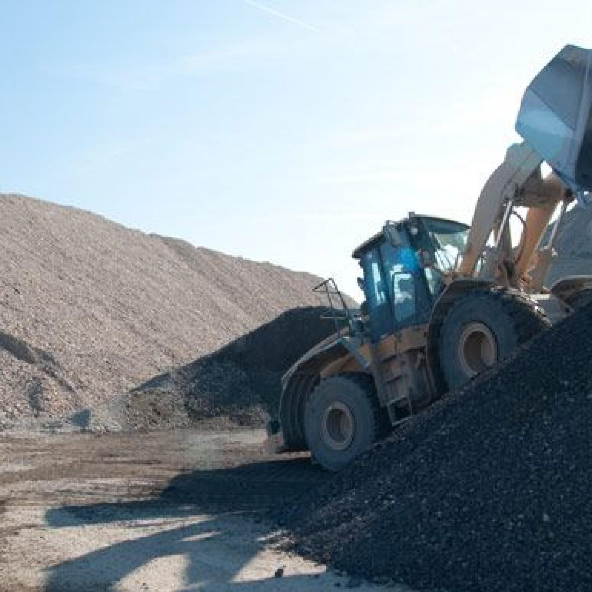 La Sablière du Cannelet, à Avusy (GE), recycle 150000 t de déchets de chantier par an.