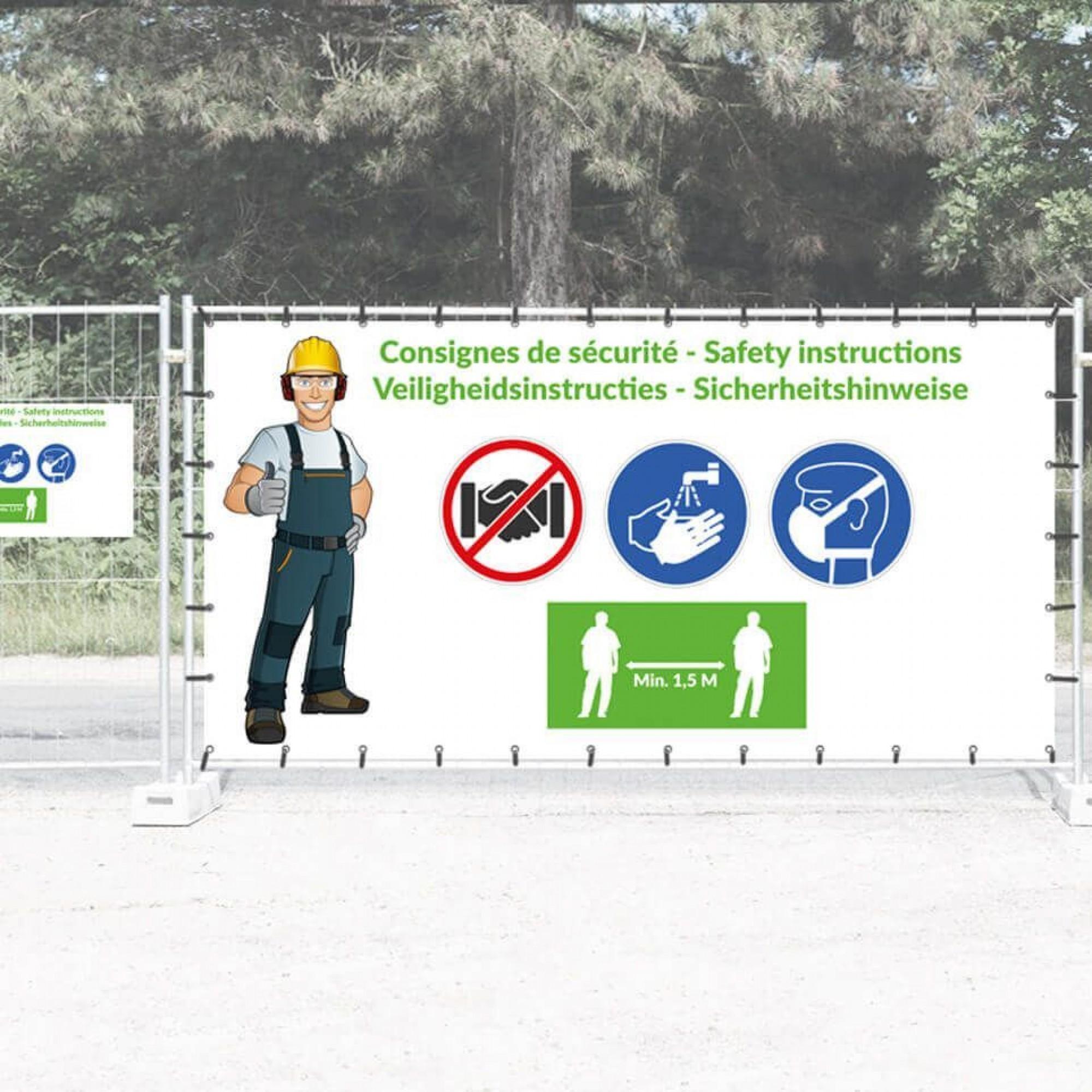 La Société suisse des entrepreneurs demande à tous les chantiers de veiller au port du masque, surtout pendant les transports et les pauses.