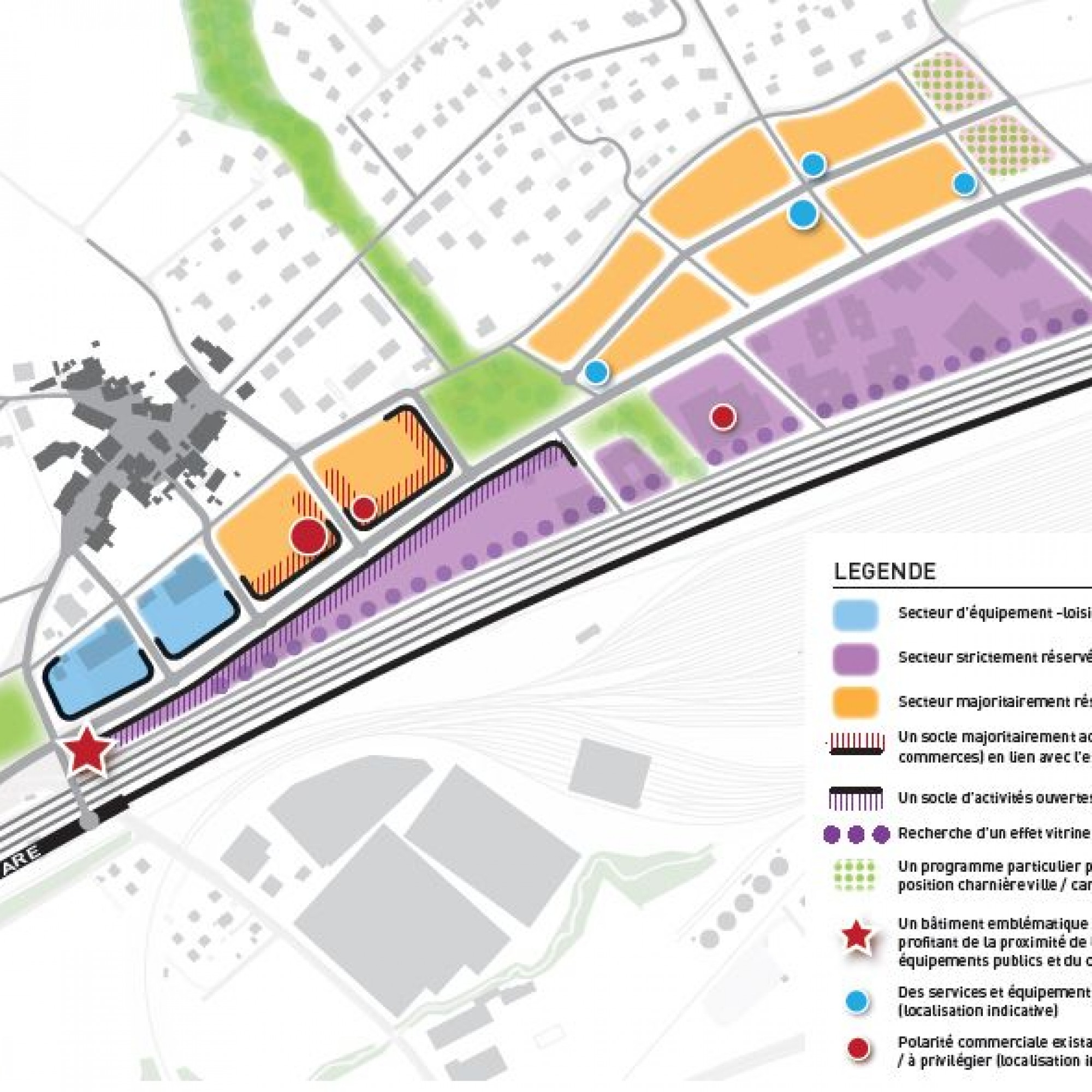 Des logements et de nouvelles entreprises sont attendus ces prochaines années en bordure de l'autoroute A1, au sud de Lonay (VD).
