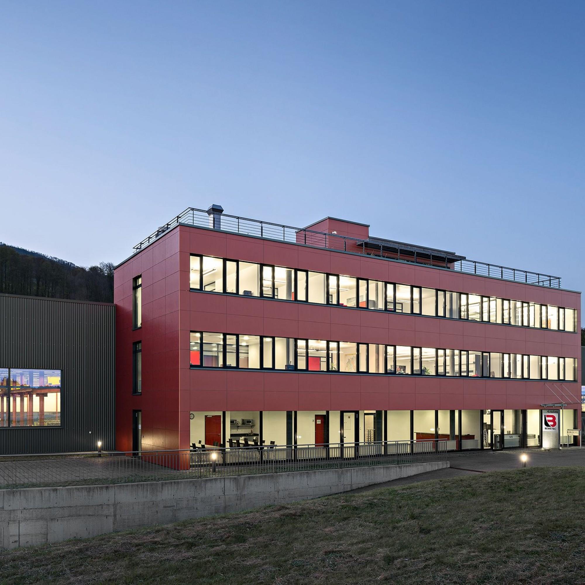 Les chantiers de Bewetec (ici à Oberbipp) gagnent du temps avec la numérisation des procédures.