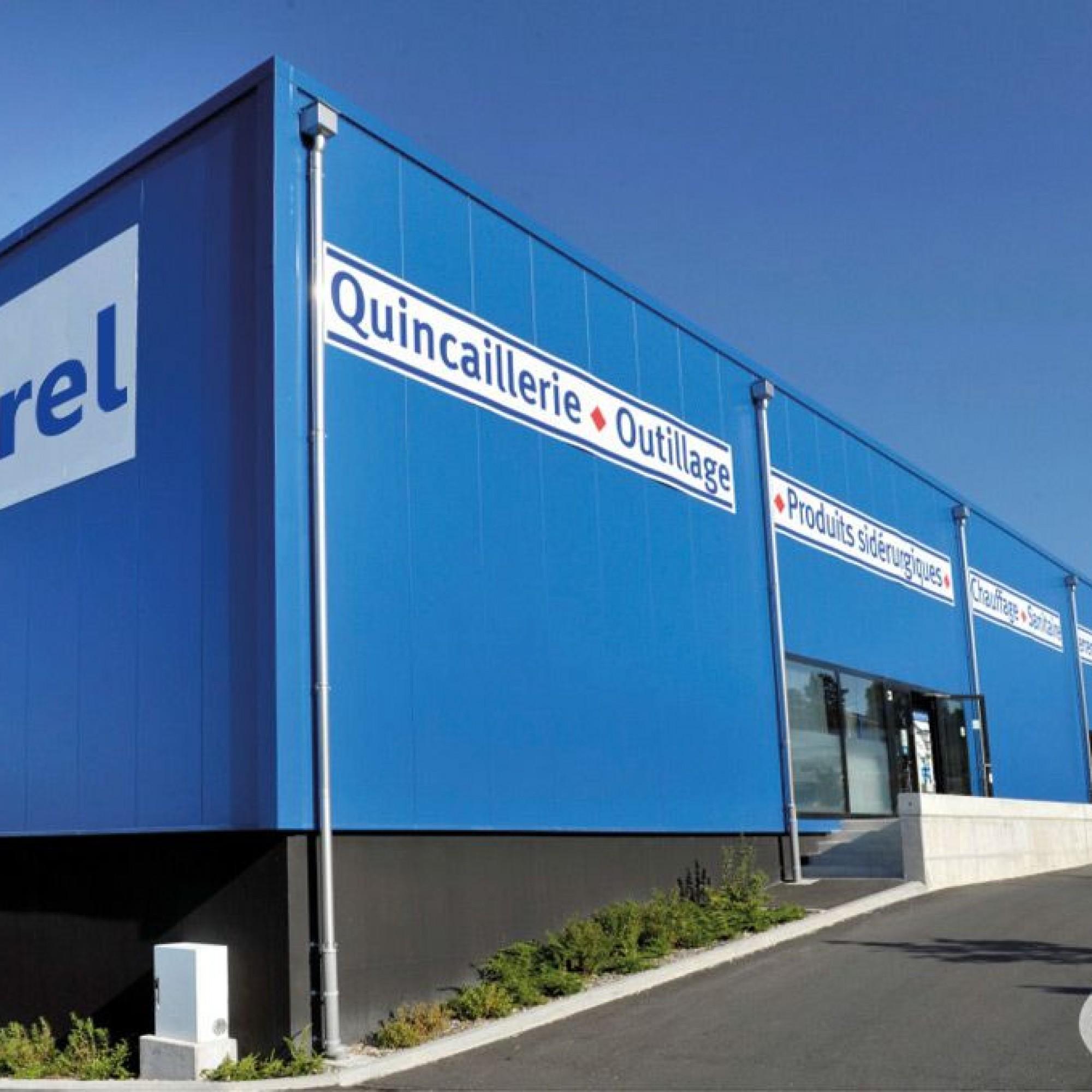 Les employés de Carrel SA (ici le siège de l'entreprise à Yverdon-les-Bains) vont passer sous la coupe d'un holding employant 500 collaborateurs.
