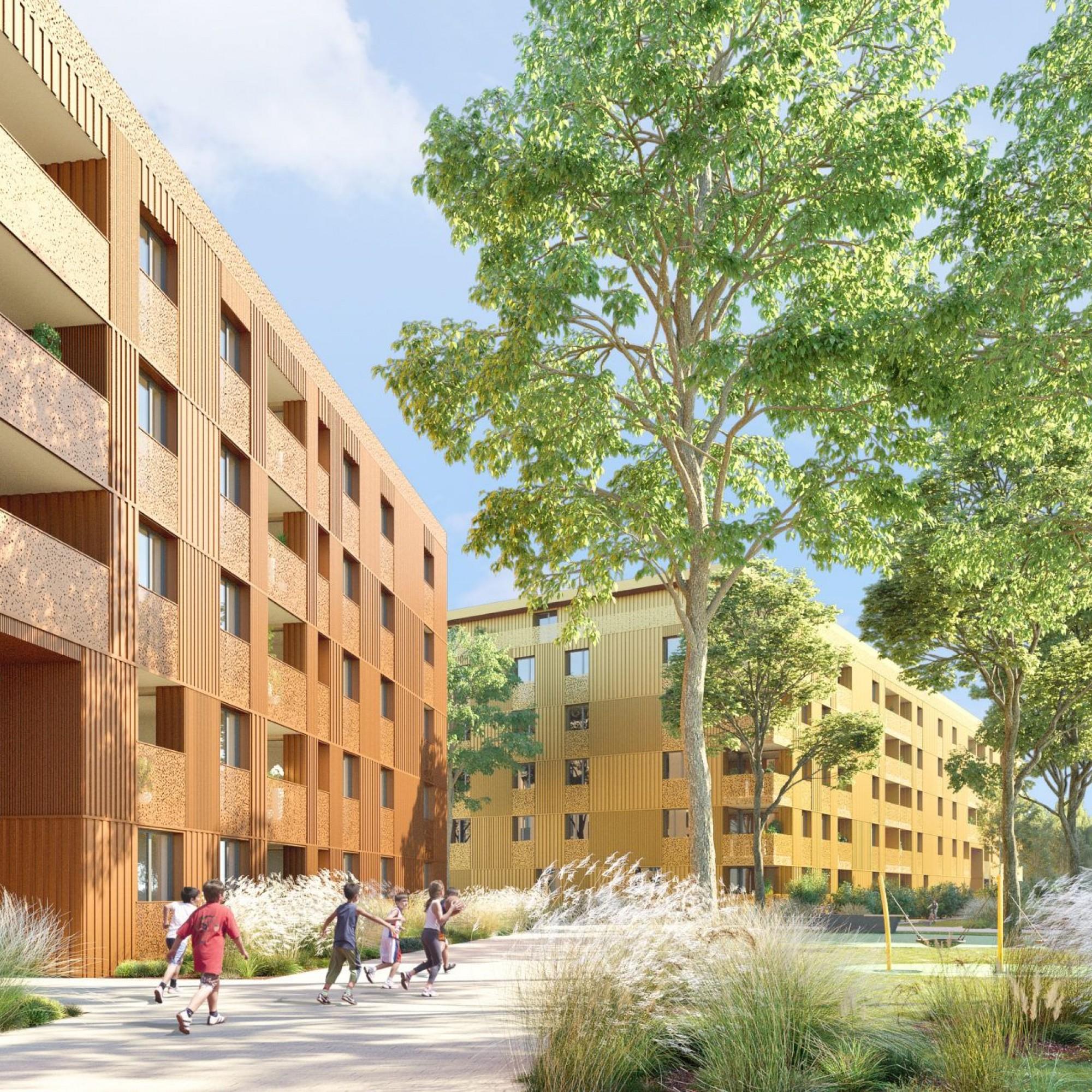 Les appartements à loyers abordables peuvent aussi se combiner avec un habitat durable.