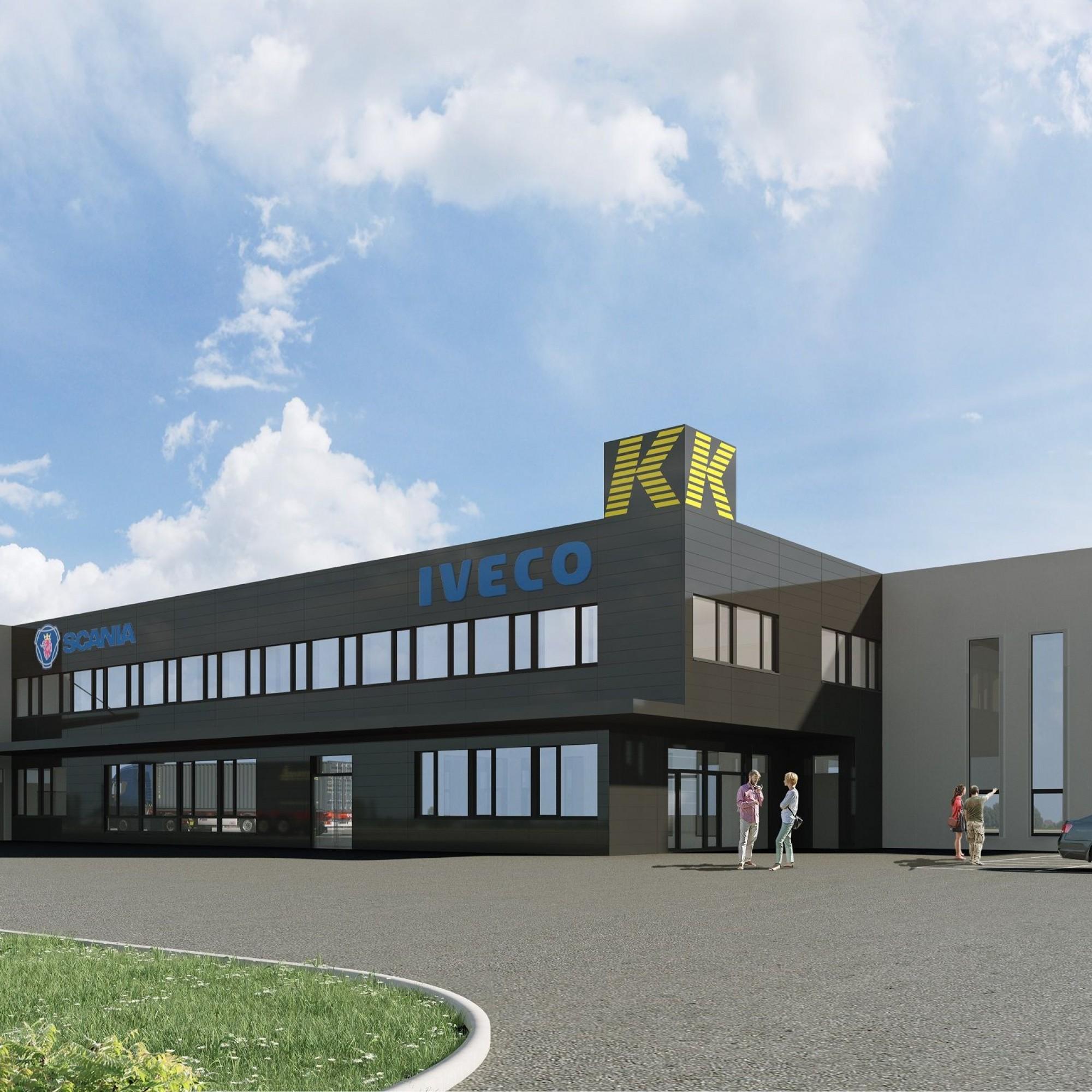Le nouveau bâtiment de la société Kolly Succession Longet SA sera terminé dans un an.