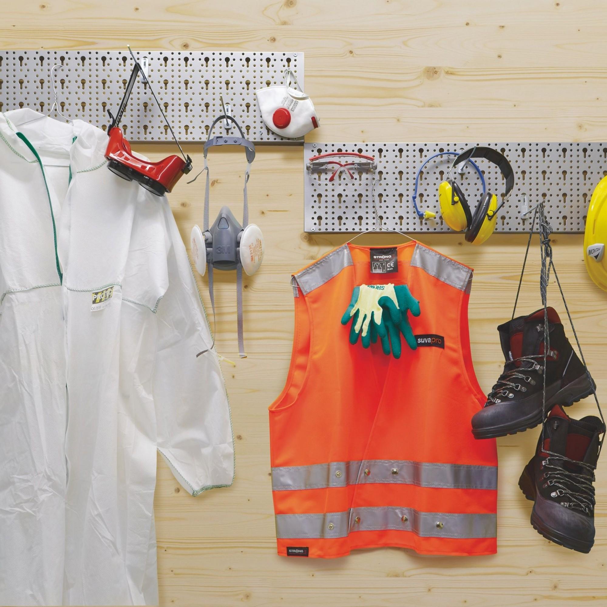 Un équipement personnel de sécurité est le plus haut niveau de protection prescrit.