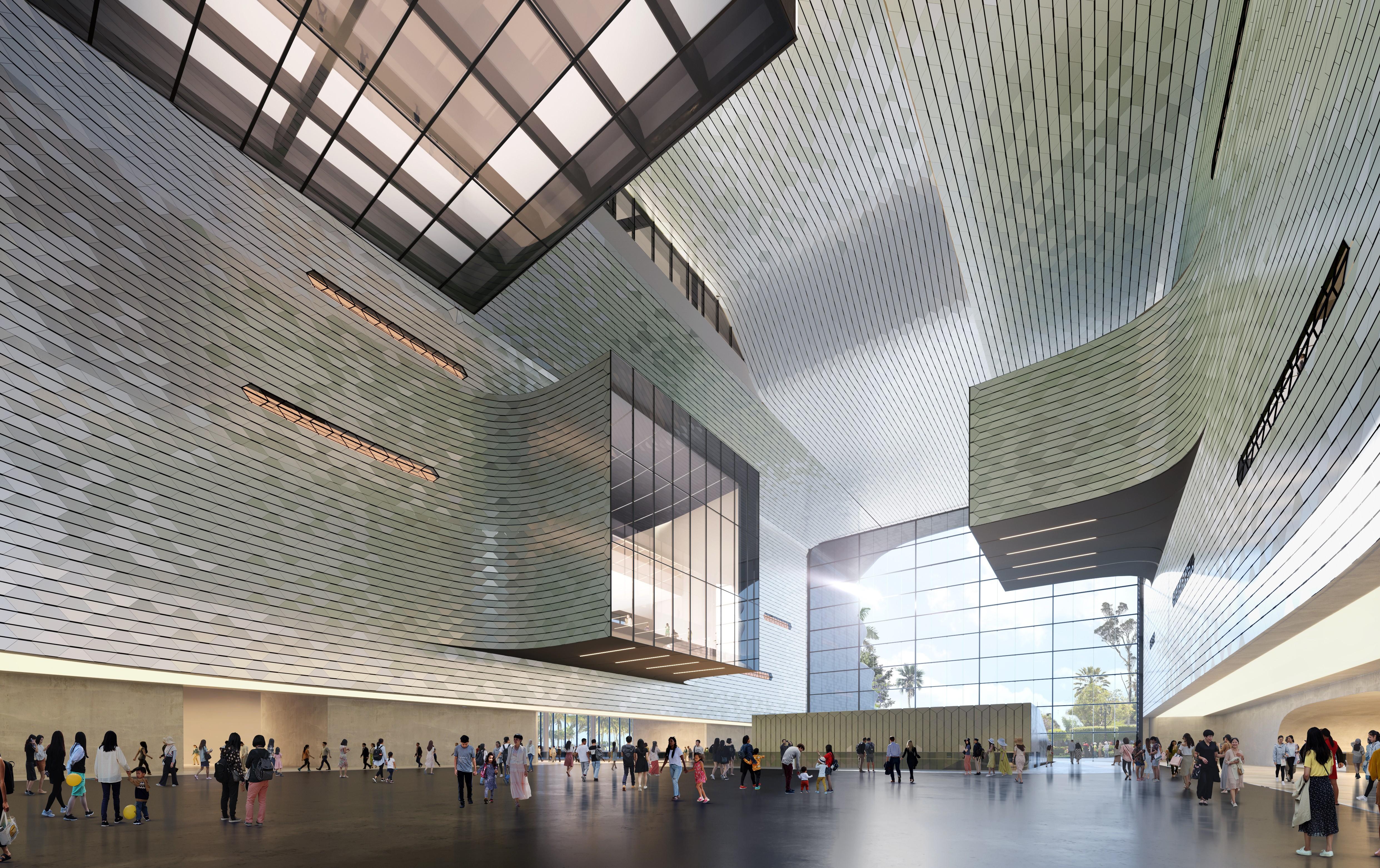 Zaha Hadid Architectes présente le futur musée des sciences et de la technologie de Shenzhen