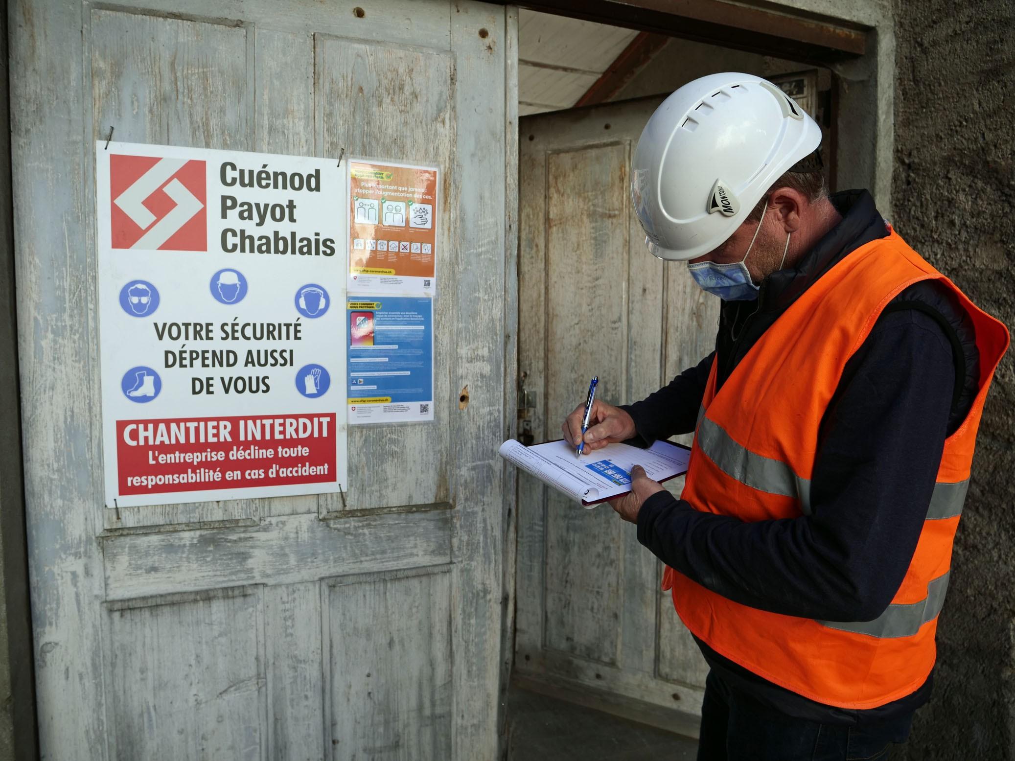 Inspection de sécurité sur les chantiers au temps du Covid