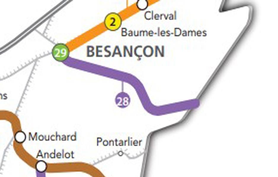 Train Besançon Chx Fds 2