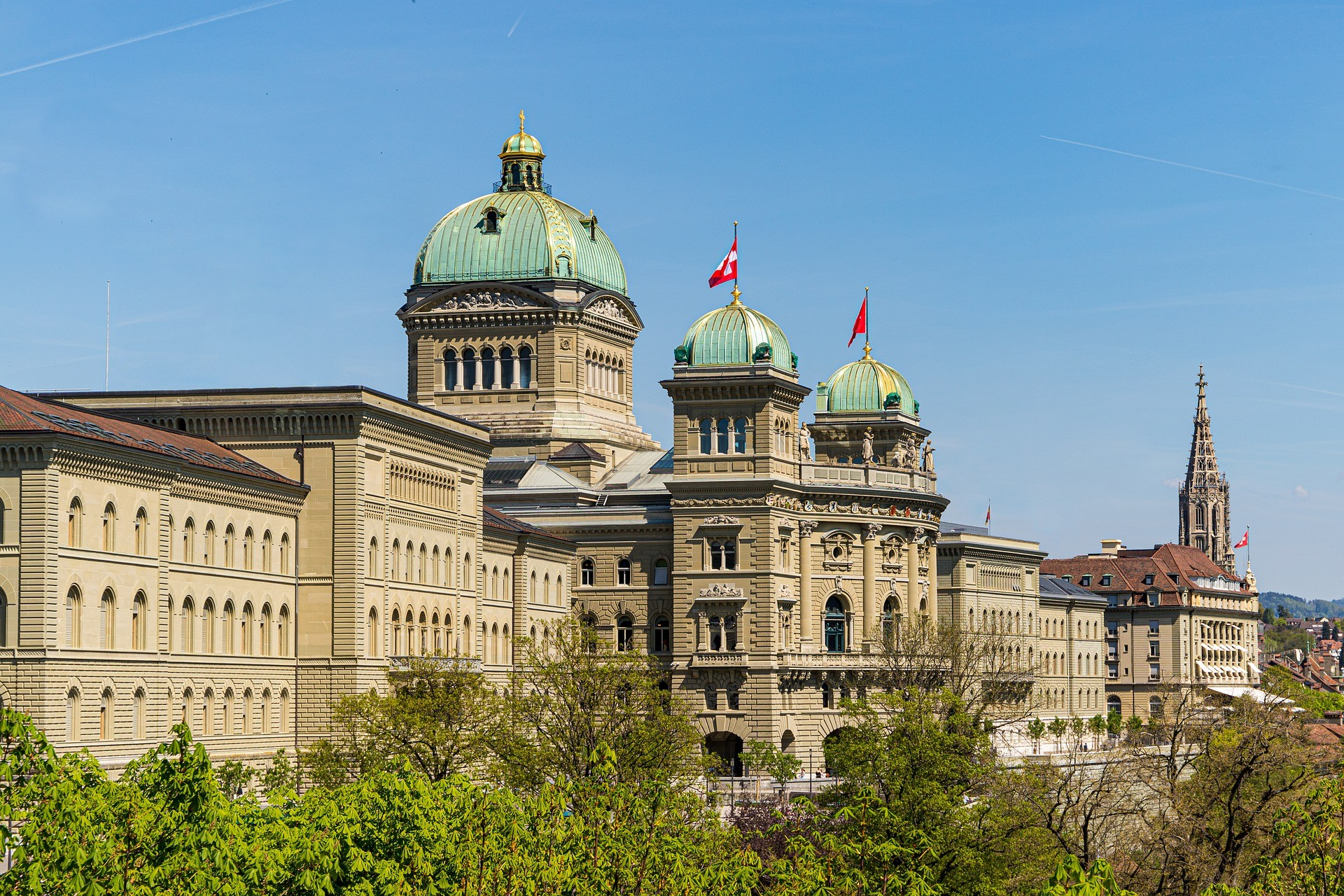 Palais fédéral Berne