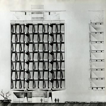 WEB7. Jean Tschumi, Siège de l'OMS, Genève (1959-1966)