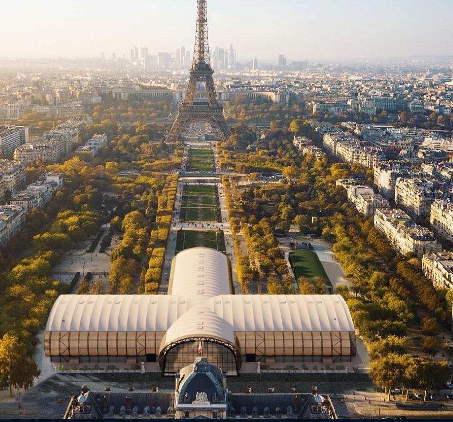 Grand Palais éphémère Paris