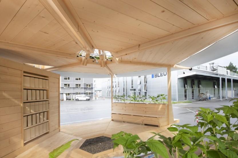 Pavillon climat Fribourg