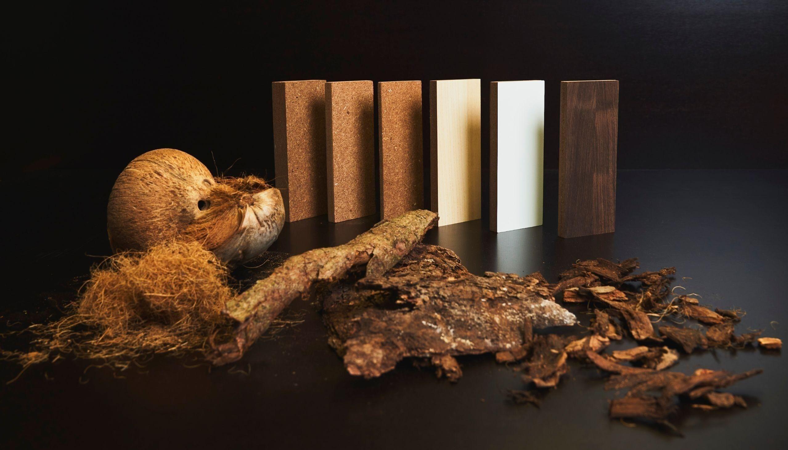 NaturLoop AG, spin-off de la HES Berne, veut révolutionner le marché de la construction en Asie grâce à ses Cocoboards, des panneaux à base de fibres de noix de coco.