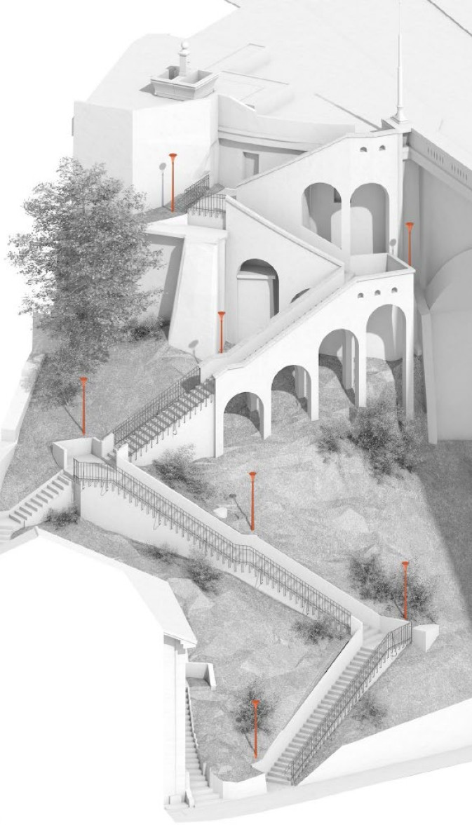 Escaliers Zaehringen Fribourg 1