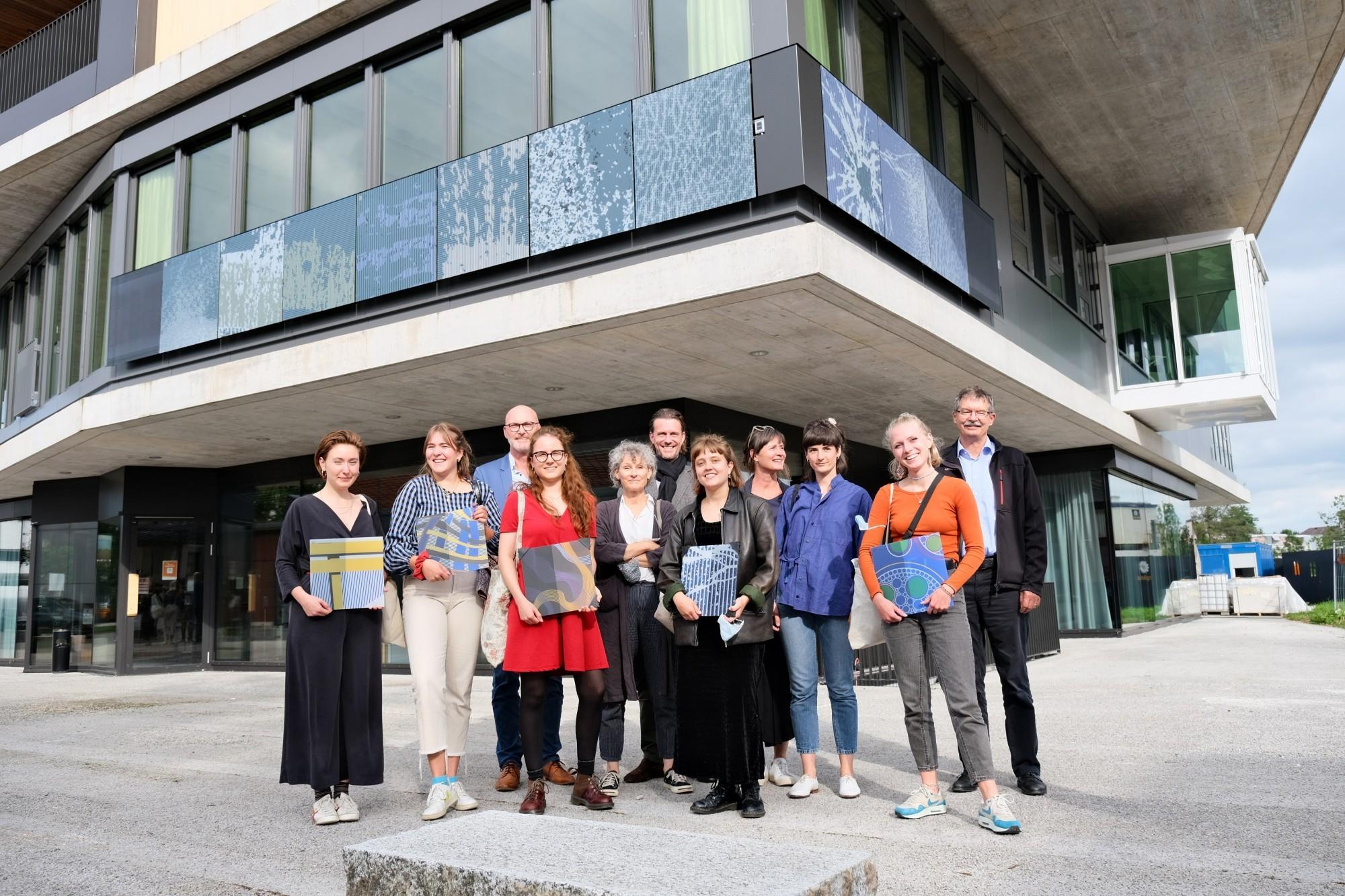 L'équipe de Lynn Balli a remporté le prix d'un concours de design interdisciplinaire é Dübendorf