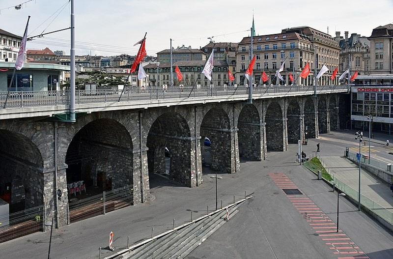 L'assainissement nécessaire du Grand-Pont de Lausanne durera un an.
