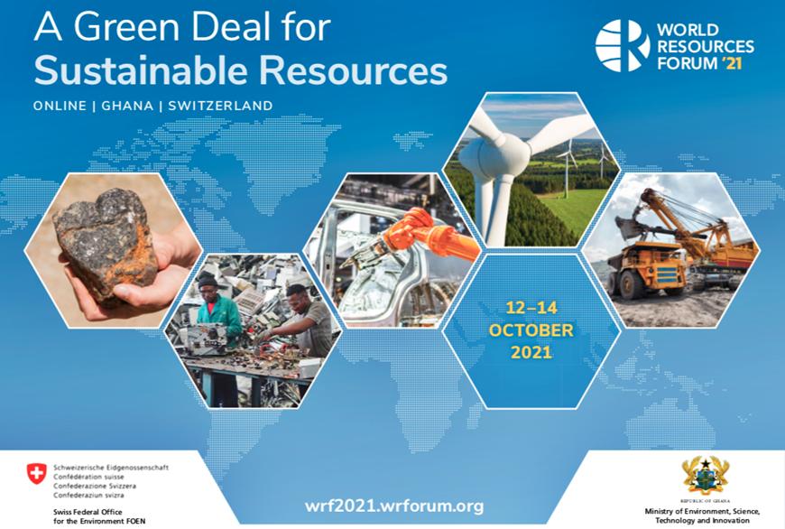 Conférence WRF  « Green deal » pour les ressources durables.