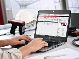 1.La solution Hilti ON!Track permet de documenter tous les actifs d'exploitation, indépendamment de la marque, au moyen d'étiquettes RFID et de codes à barres.