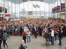 Plus de 620'000 visiteurs se sont pressés pendant une semaine au salon de Munich.