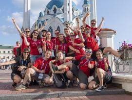 Equipe suisse aux WorldSkills 2019 à Kazan
