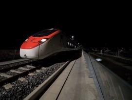Suisse-CFF-NLFA et du tunnel de base du Ceneri