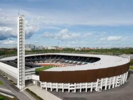 oyau du fonctionnalisme finlandais, le stade olympique d'Helsinki est réinauguré après une vaste rénovation
