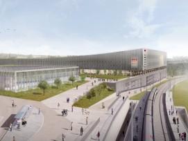 Migros veut construire un méga centre commercial, un parc aquatique et des centaines de logements à Avry (FR)