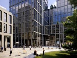 «Alto Pont-Rouge», tel est le nom du futur immeuble de bureaux et de commerces au Grand-Lancy.