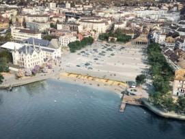 La future place du Marché de Vevey sera largement restituée aux piétons dès 2024.