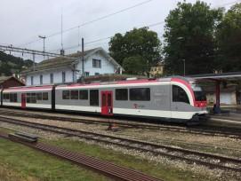 Le chantier de la modernisation de la gare de Sainte-Croix (VD) s'achèvera l'an prochain.