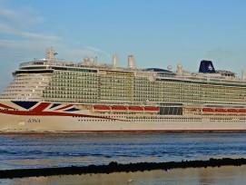 MS Iona, le nouveau bateau de croisière de P&O
