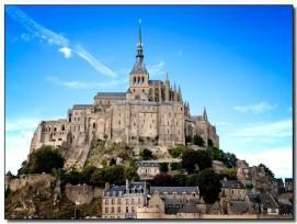Les façades de l'abbaye du Mont-Saint-Michel seront rénovées avec les techniques les plus modernes