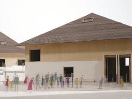 La future Maison de La Gruyère, à Pringy, comprendra quatre pavillons