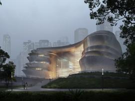 Zaha Hadid Architectes présnte le futur musée des sciences et de la technologie de Shenzhen