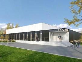 """La """"Pol Arena"""" de La Pati SA est construite en un temps record: à peine neuf mois."""