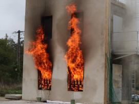Le béton de chanvre passe l'épreuve du feu-CERIB
