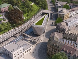 _Maison du faucon_AXA_Calatrava_Stadelhofen