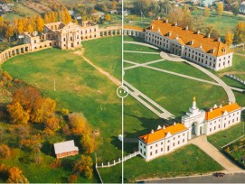 Palais de Roujany-Bielorussie