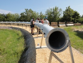 Hyperloop expérimental EPFL