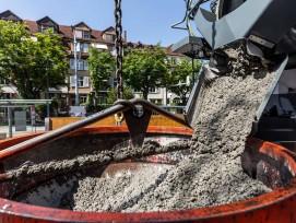 Du béton écolo Neustark pour un complexe immobilier de pointe, Tramdepot Burgernziel à Berne